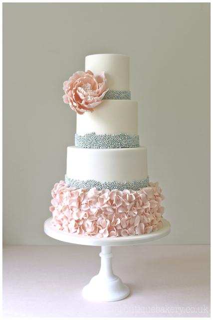 Ruffle Cake Designs