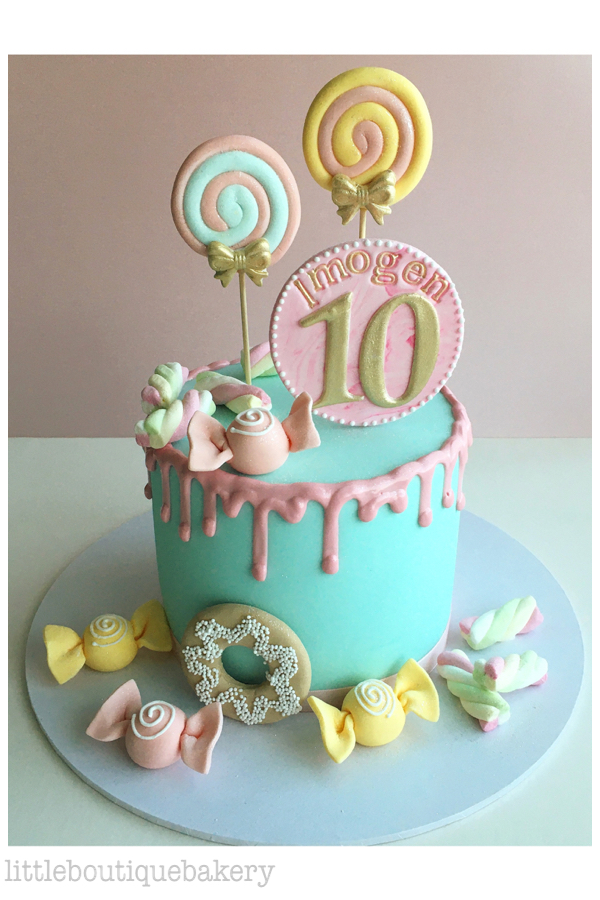 Candy Shop Birthday Cake