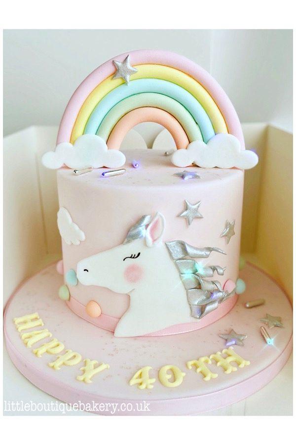 Pony Rainbow Cake