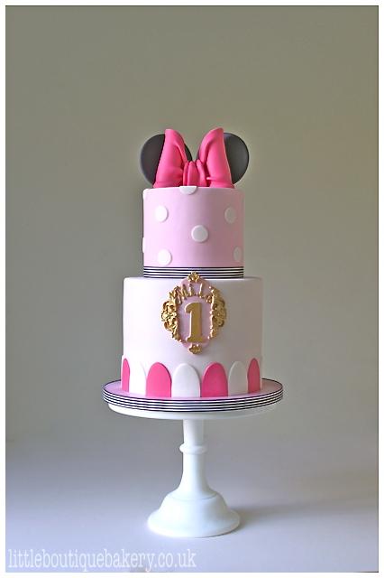 Minnie Birthday Cake