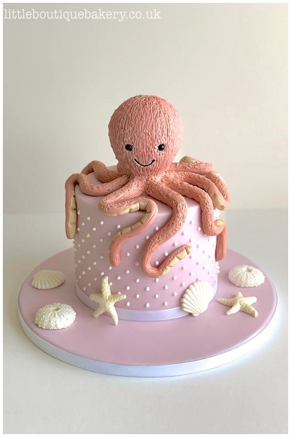 Jellycat Octopus Cake