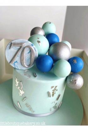 Balloons Birthday Cake