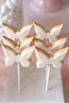 Butterfly Cookie Pops