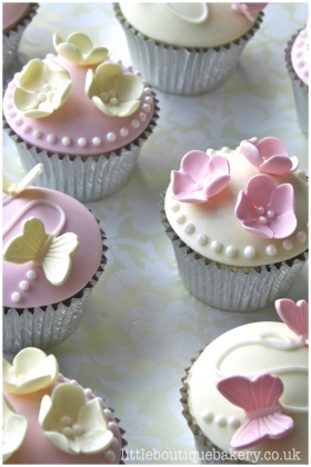 Butterfly Blossom Cupcakes