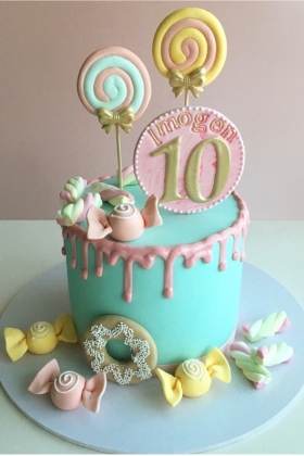 Candy Shop Birthday Cake