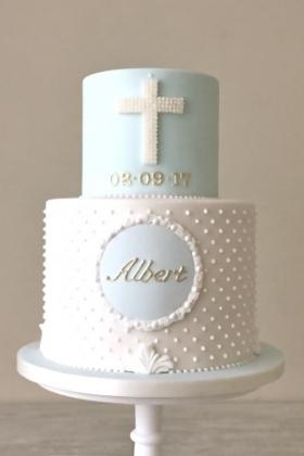 Christening Cross Cake