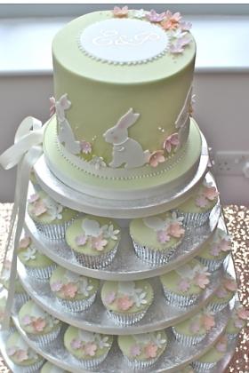 Bunny Cake Tower