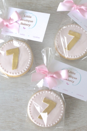 Birthday Cookie Favours