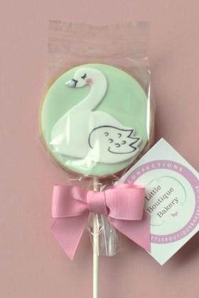 Swan Cookie Pop