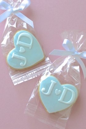 Initial Wedding Favours