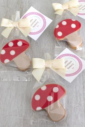Toadstool Cookies