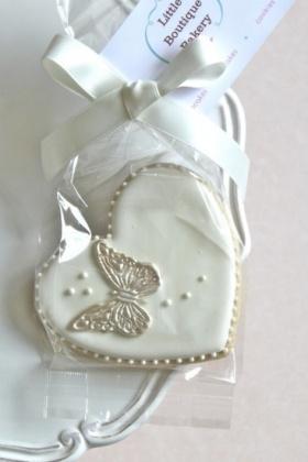 Heart Butterfly Cookie