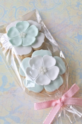 Flower Pearl Cookies