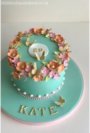 Blossom Butterfly Cake