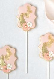 Butterfly Garden Cookies