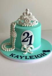 Breakfast at Tiffanys Cake