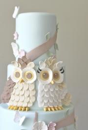 Owl Woodland Cake