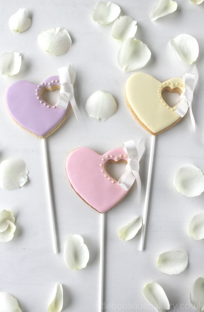 Wedding Cookie Favours Little Boutique Bakery