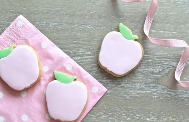 Pink Apple Cookies