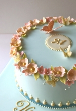 Blossom Butterfly Birthday Cake