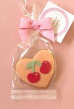 Cherry Heart Cookie