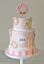 Candy Donut Birthday Cake