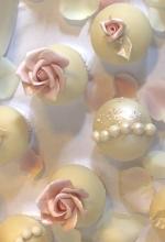 Rose Pearl Cupcakes