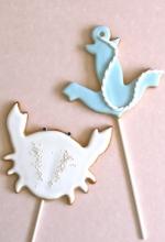 Sea Cookie Pops