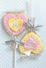 Heart Cookie Wands