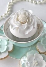 Flower Pearl Cookies