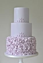 Lilac Froufrou Cake