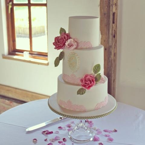 Rose Lace Cake