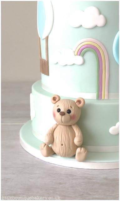 Teddy Balloon Cake